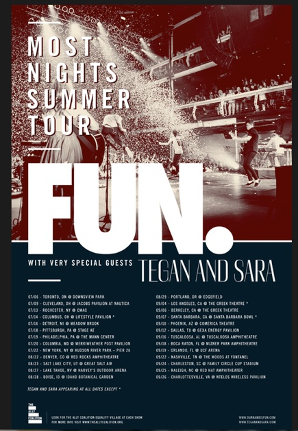 FUN. Announce U.S. Summer Tour