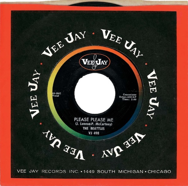 Beatles on Vee-Jay Goes Digital