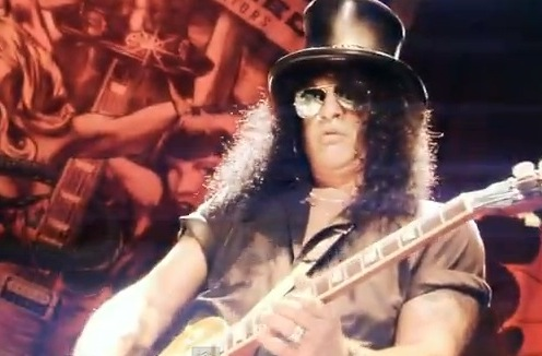 Slash Premiers New Video