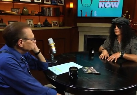 Slash On Larry King Now