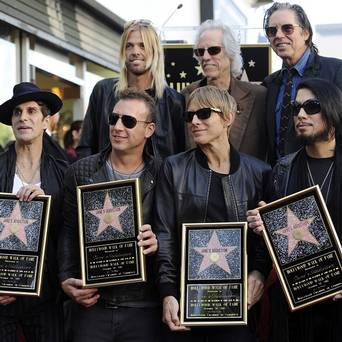 Janes Addiction Gets Star on Walk of Fame