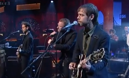Watch the National on David Letterman