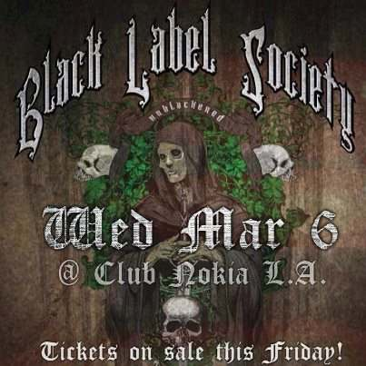 Zakk Wylde Sets Unblackened Concert