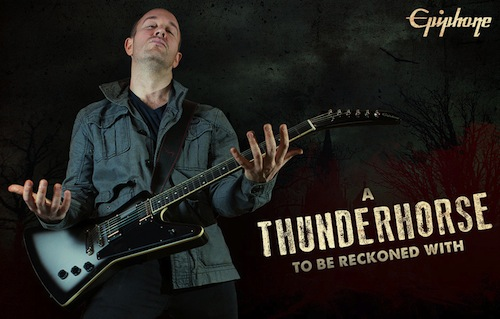 Win An Epiphone Thunderhorse Explorer