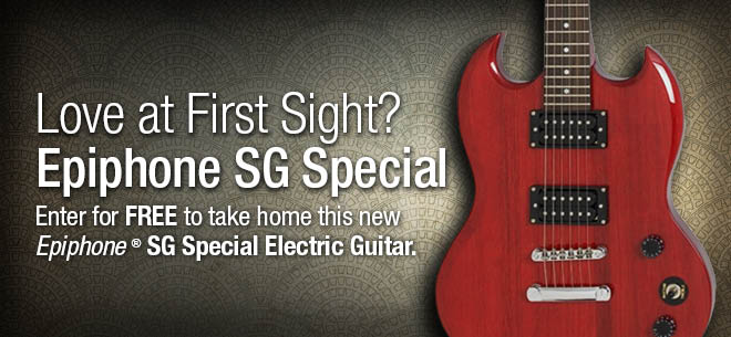 Win An Epiphone SG Special