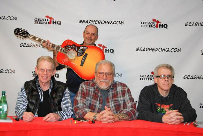 Gear Hero HQ Hosts Jack Casady and Hot Tuna