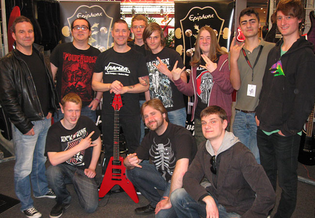 Jeff Waters Clinic at Rock Shop in Karlsruhe