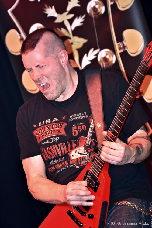 Jeff Waters Completes String of Epiphone Clinics in Germany