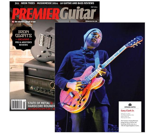 Gary Clark Jr. in Premier Guitar