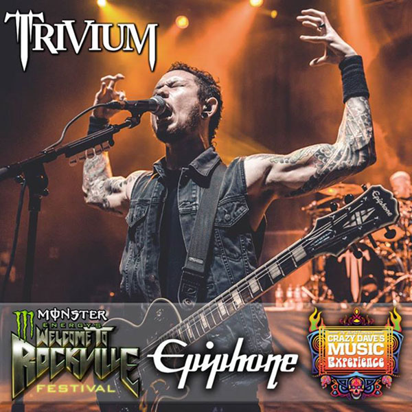 Meet Matt Heafy of Trivium at Rockville
