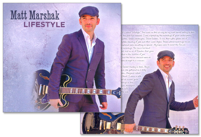Matt Marshak Releases New CD