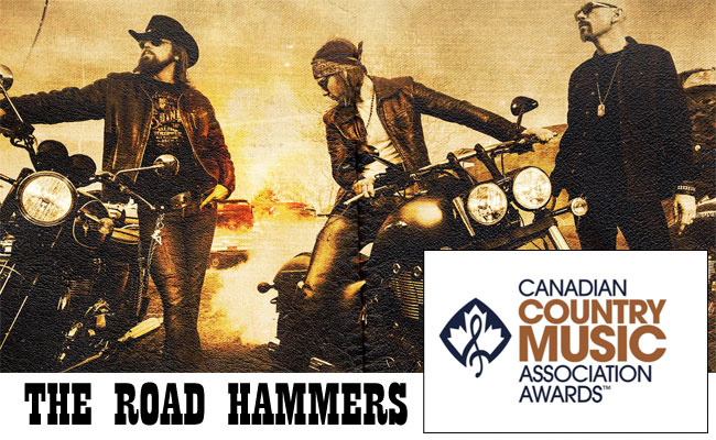 The Road Hammers Rock The CCMA Awards Show