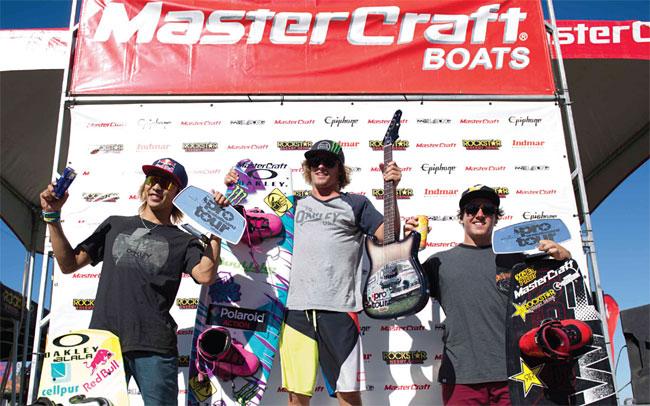 Epiphone Sponsors 2014 MasterCraft Pro Wakeboard Tour