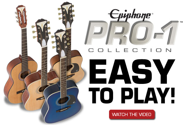 Epiphone PRO-1 Ultra Gets Guitar Player Editor's Pick Award!