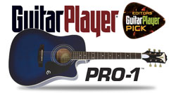Epiphone PRO-1 Ultra Gets Guitar Player Editor's Pick Award!
