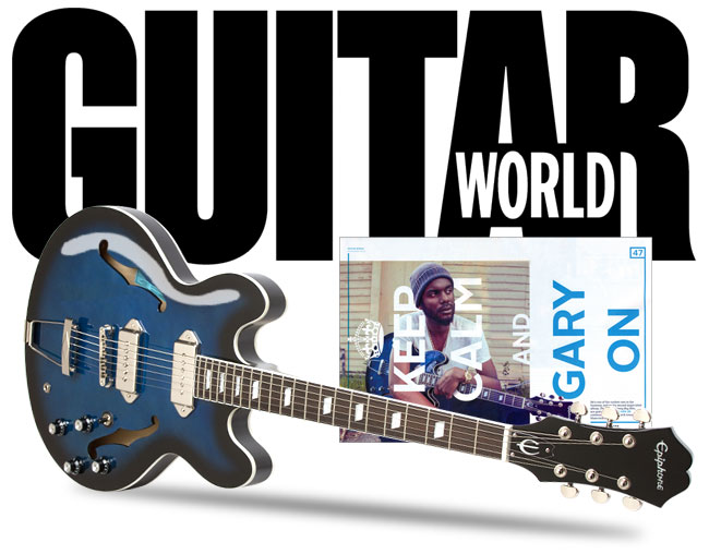Guitar World Talks To Gary Clark Jr. About New Album in November Issue