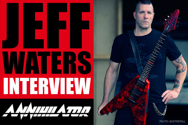 The Epiphone Interview: Jeff Waters