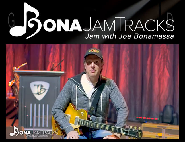 Jam With Joe Bonamassa; FREE Backing Track!
