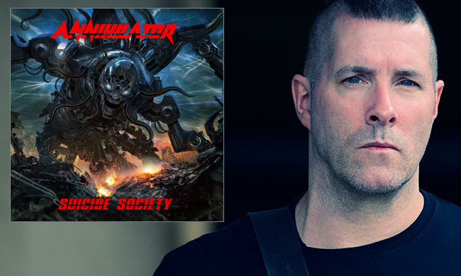 Annihilator Releases Two New Videos For Suicide Society Project