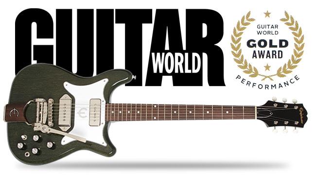 Guitar World Gives Tamio Okuda Coronet Gold Award!