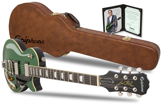 2015 Joe Bonamassa Les Paul Gets Guitar Player Editors' Pick