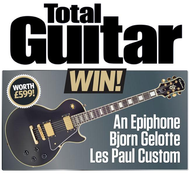 Total Guitar is Giving Away An Epiphone Björn Gelotte Les Paul Custom