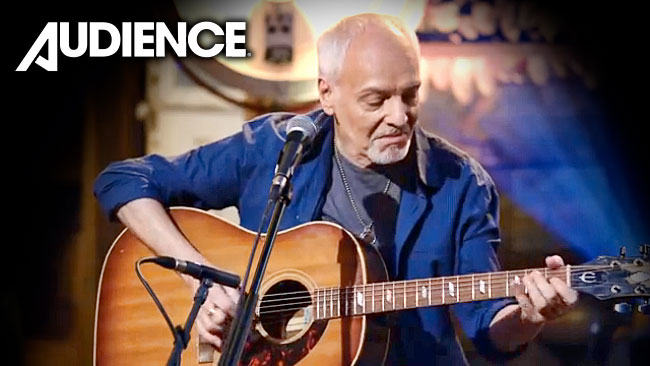 Peter Frampton Performs For Audience Network With Texan