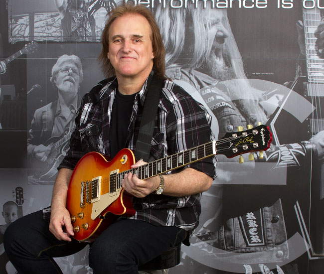 Rocky Athas: The Epiphone Video Interview