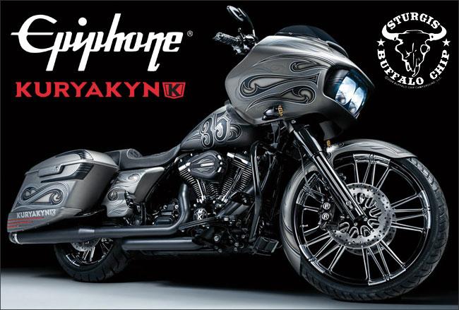 Kuryakyn® and Epiphone® Salute 35 years of Rock, Rumble & Rebellion