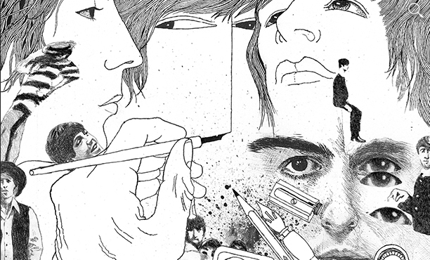 Klaus Voormann looks back on drawing the iconic 1966 cover