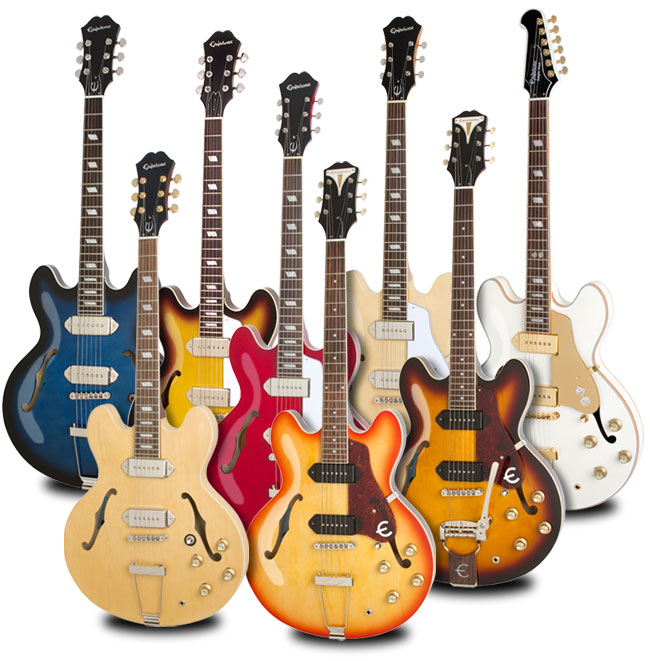 A History of the Epiphone Casino