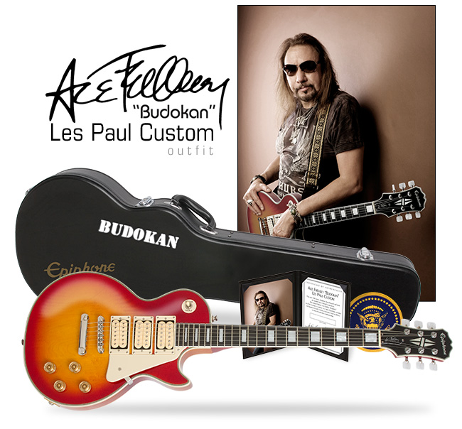Ace Frehley Budokan Les Paul Custom Outfit