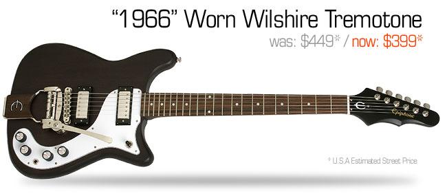 Epiphone 1966 Worn Wilshire Tremotone