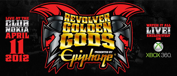 Revolver and Epiphone's 2012 Golden Gods Awards