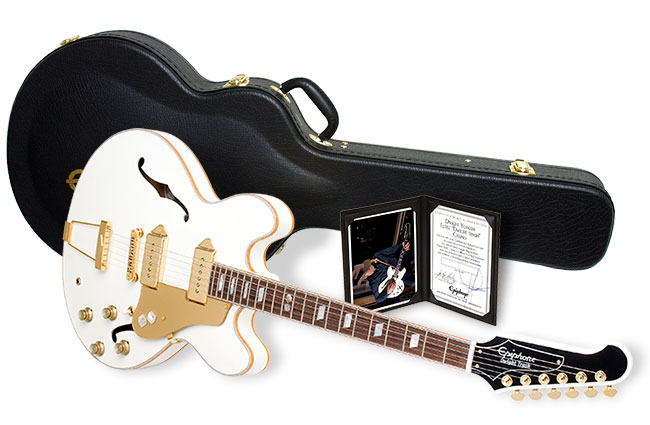 Dwight Yokam's Epiphone Dwight Trash Casino Outfit with Case and Certificate