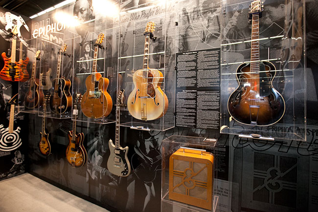 Epiphone Vintage Collection at Musikmesse 2012