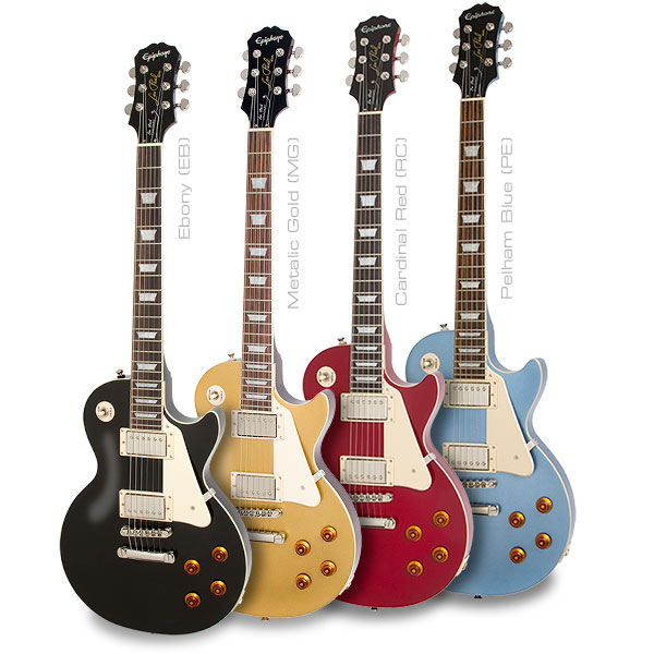 Epiphone Les Paul Standard Now Available in 3 New Colors