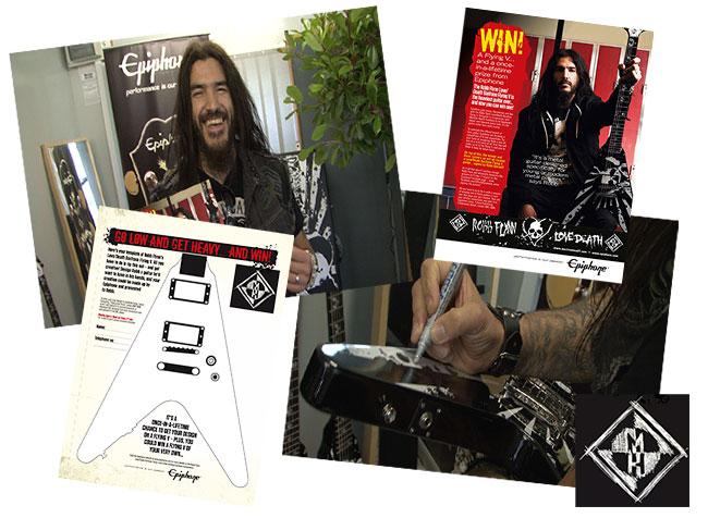 Robb Flynn Announces The Metal Hammer Design An Epiphone Love/Death Contest Winner