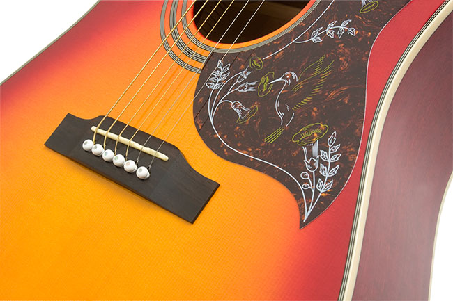 The Epiphone Hummingbird Acoustic