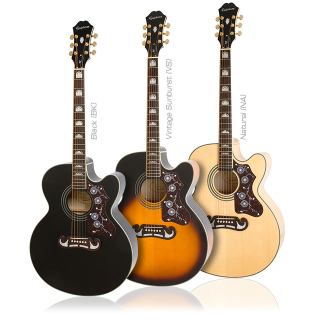 Epiphone EJ-200SCE: King of the Flattop Guitars