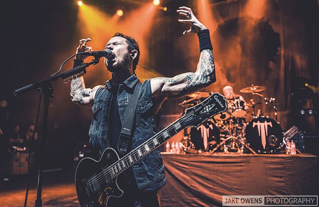 Matt Heafy and Trivium Playing To Sold-Out Crowds In Europe