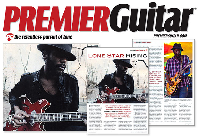 Gary Clark Jr. Talks About The Most Versatile Axe He's Ever Picked Up