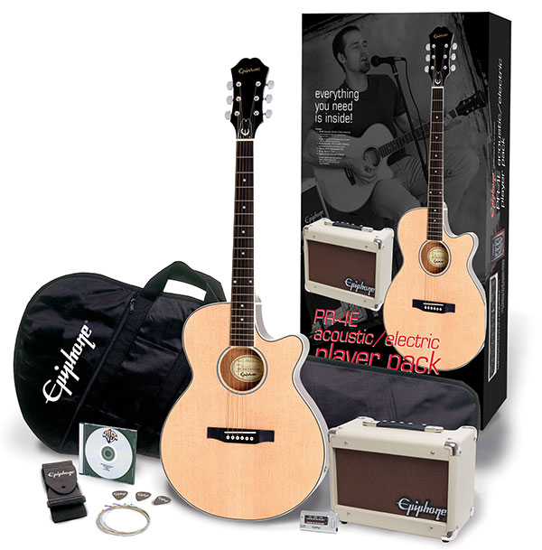 PR-4E Acoustic/Electric Player Pack: Everything You Need To Get You Playing Live!