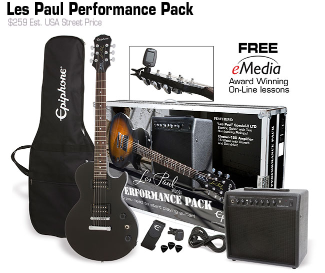 Epiphone Les Paul Performance Pack Pack