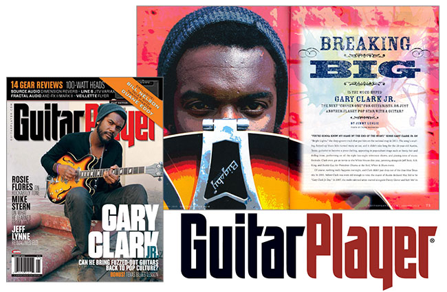 Guitar Player Interviews Gary Clark Jr.