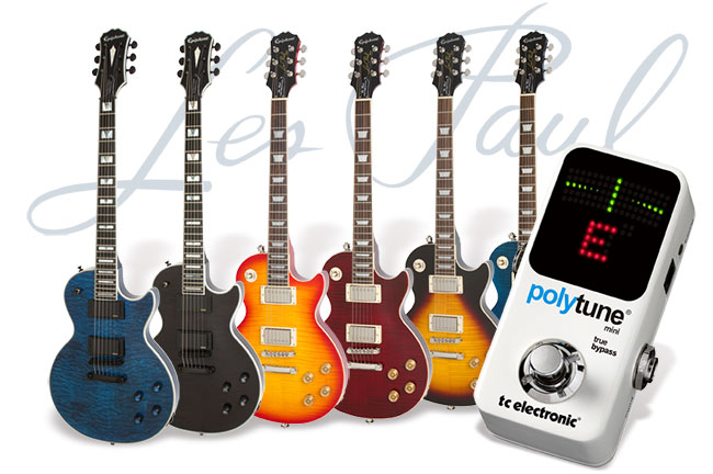 Epiphone Prophecy & Tribute Month Month