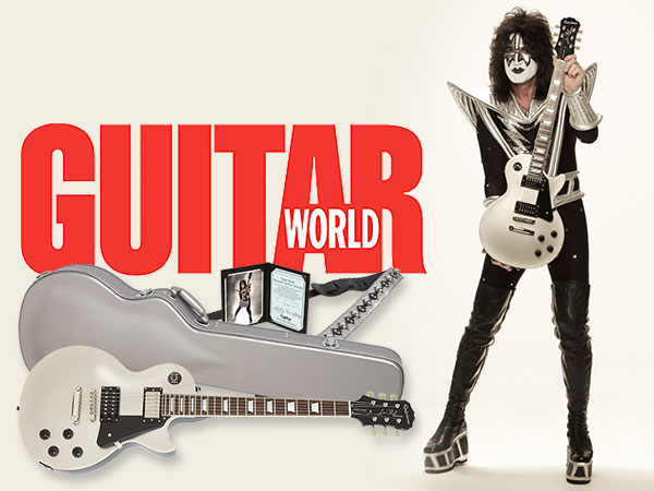 Kiss Guitarist Tommy Thayer Discusses His Signature Epiphone Spaceman Les Paul With Guitar World
