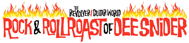 Epiphone Sponsors Rock and Roll Roast of Dee Snider