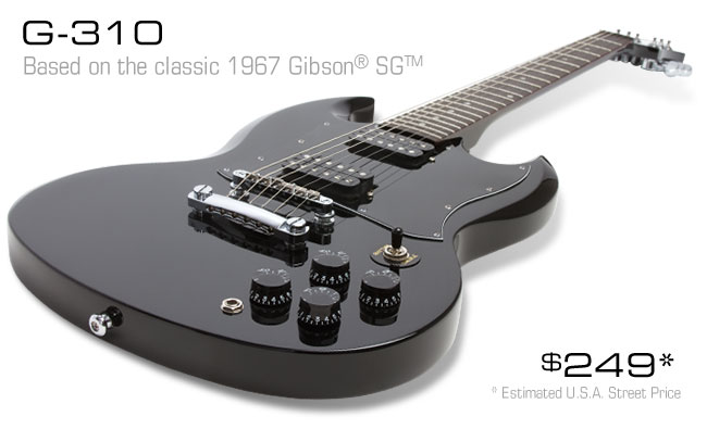 The Epiphone G-310