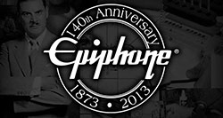 Epiphone Celebrates 140 Years